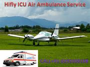 Low Cost Charter Air Ambulance Services from Delhi-Hifly ICU Air Ambul