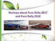 Reviews about Pure Rally 2017, Pure Rally 2018