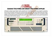 Manage Your Power and Energy with Power Supplies