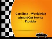 Cars.limo - Worldwide Airport Car Service Provider