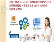 Hotmail Customer Support Number +353 21 2340006 Ireland