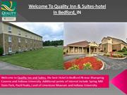 Quality Inn & Suites-Hotel in Bedford, IN