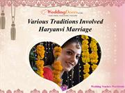 Various Traditions Involved Haryanvi Marriage