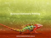 Business Stationery Printing - Chameleon Print Group