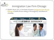 Immigration Law Firm Chicago