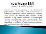 Metal Coating & Metal Surface | Schaetti Coating Technology