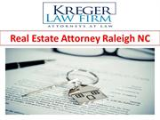 Real Estate Attorney Raleigh NC
