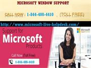 Microsoft Window Technical Support Phone Number 1-844-400-4410