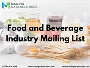 Food and Beverage Industry Mailing List