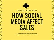 How Social Media Affect Sales - edited ppt