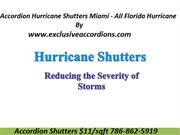 Accordion Hurricane Shutters Miami - All Florida Hurricane