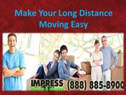 Make Your Long Distance Moving Easy