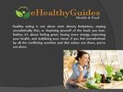 Healthy Eating - Food list that is Super Healthy