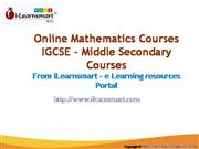CBSE Online Learning Mathematics Courses