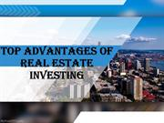 TOP ADVANTAGES OF REAL ESTATE INVESTING
