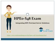 HPE0-S48 Braindumps |2018 HP HPE0-S48 Exam Questions RealExamDumps