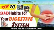Top 10 Bad Habits Should be Avoided For Your Healthy Digestive System