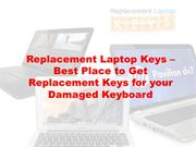Replacement Laptop Keys – Best Place to Get Replacement Keys for your