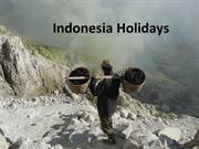 Last minute cheap holidays to Indonesia