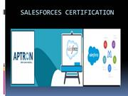Salesforces Training Institute in Gurgaon