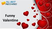 Funny Valentine, funny valentine sms messages, Funny valentine jokes