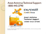 1800-445-2790 Avast tech support phone number