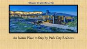 An Iconic Place to Stay by Park City Realtors