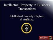 03-Intellectual Property Capture