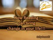 How Reading Can Bring Change in Your Life By Sally Dasouki