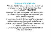 New Year offer 2018 - 15% for magento extensions