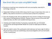 How Small ISVs can scale using BOMT Model (1)