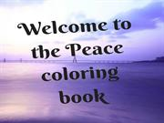 Peace Coloring Book - Painting for Peace Coloring Book