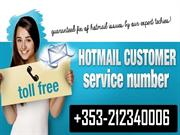 Hotmail Tech Support phone number +353 21 234 0006 ireland
