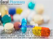 Buy Medicine online from USA -coral pharmacy