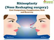 Rhinoplasty (Nose Reshaping surgery)