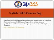 Stylish DSLR Camera Bag
