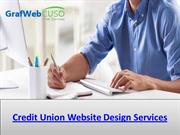 Credit Union Website Design Services