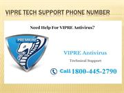 Vipre support 1800-445-2790 vipre tech support phone number