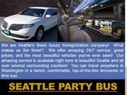 Seattle Party Bus Rentals