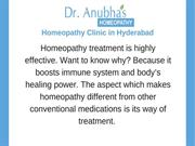 Dr.Anubha-Sinus Treatment in Homeopathy in Hyderabad