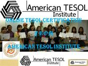 tesol certification course