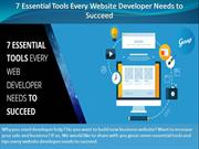 7 Essential Tools Every Website Developer Needs to Succeed