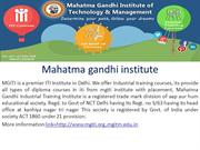 MGITI Industrial Training and iti in meson,iti in foundaryman