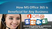 How MS Office 365 is Beneficial for Any Business