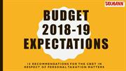 Union Budget 2018 - 19 Expectations