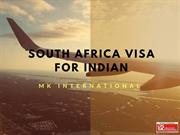 South Africa visa for Indian