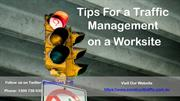 Tips For a Traffic Management on a Worksite - Construct Traffic