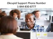Okcupid Support Phone Number 1-844-830-8777