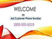 AOL EMAIL support 1800-935-6319 AOL email customer service Helpline