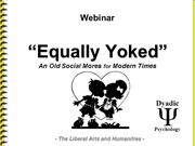EQUALLYYOKED---A-Social-Phenomena---Marriage,-Family,-and-Child-Psycho